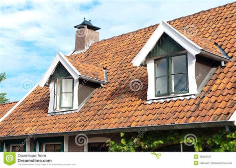 Dormers Only Dormer Windows Royalty Free Stock Photography Image
