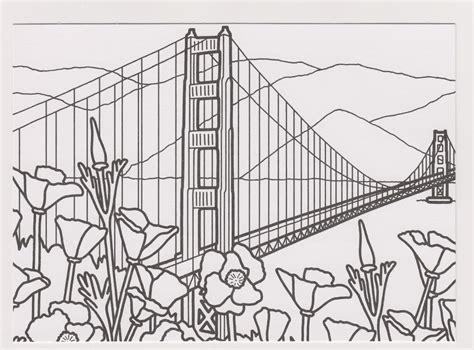 one postcard a day 76th anniversary of the golden gate