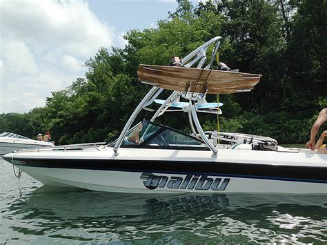 wakeboard behind boat wakeboard tower for pontoon boats this is how you can