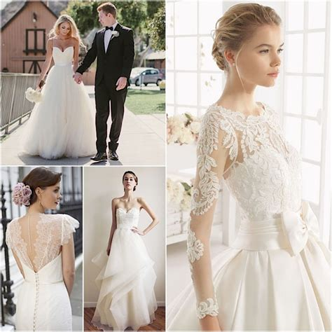 Classic Wedding Dresses by Classic Wedding Dresses From Top Designers Modwedding