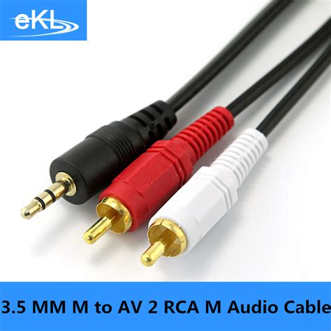 Capdase Kabel Audio 3 5 Mm 3 5mm To Cable 1 2m Av00 A00g ekl 3 5mm to av 2 rca stereo audio