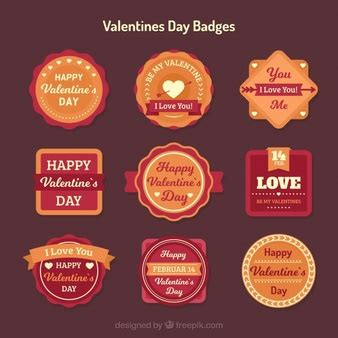 S Day Badges Badges In Retro Style Vector Free