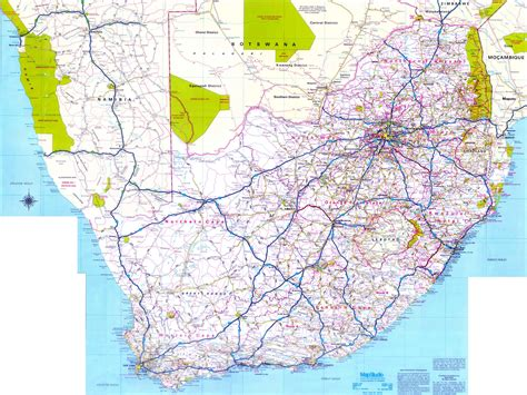 printable maps south africa south africa maps printable maps of south africa for