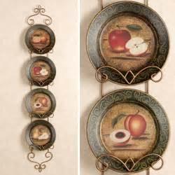 Decorative Fruit Wall Plates Bountiful Fruit Decorative Plates Set