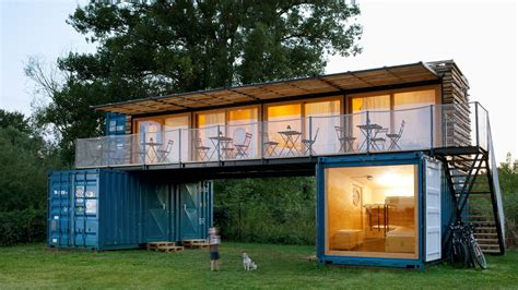 shipping container hotel offers eco friendly getaway