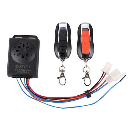 Alarm Remote Buat Motor 150m remote anti theft motorcycle scooter keyless unlock