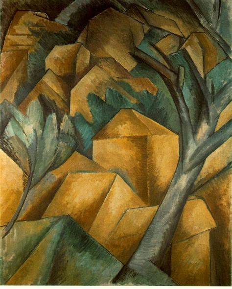 cubist landscape paintings cubism braque who are you ondinedecadierdeveauce