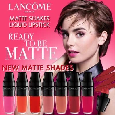 Lancome Matte Shaker qoo10 new matte shaker 7 new colours lancome
