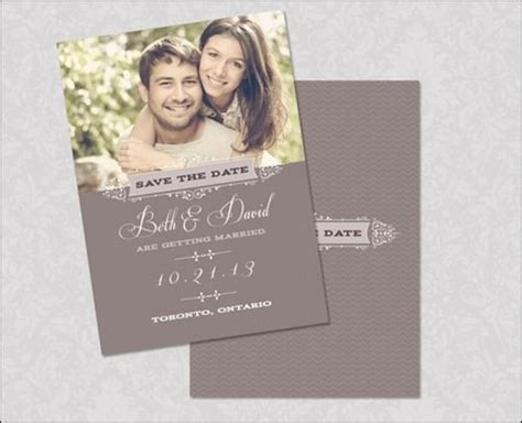 save the date cards template save the date psd template thumb 30 beautiful save the