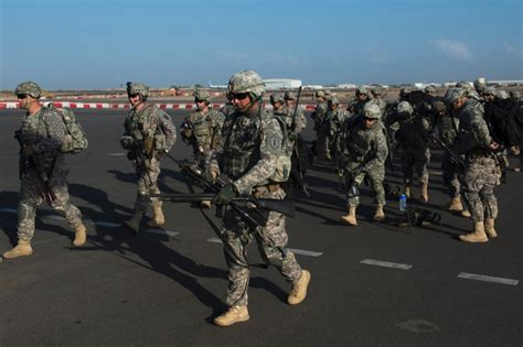 c lemonnier djibouti africa military base djibouti based troops restricted to base following bombing