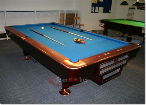 welcome to fcsnooker newly manufactured slate bed