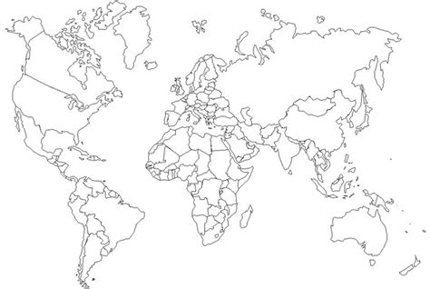 world map with country outlines gallery world countries map outline
