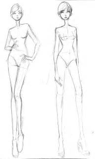 fashion design model sketch template free fashion croquis 05 by azute on deviantart