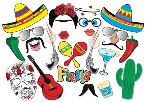 cinco de mayo printable photo booth props cinco de mayo mexican fiesta party photo booth props set 22