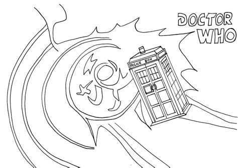 tardis coloring page coloring home