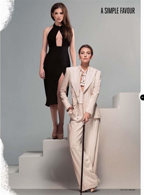 A Simple Favor Outfits