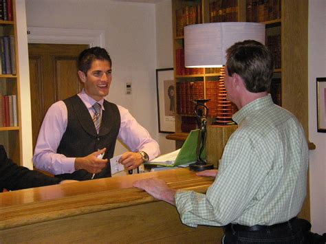 hotel front desk clerk hostgarcia