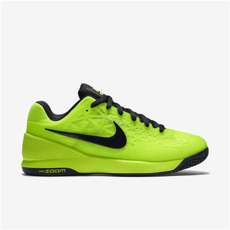 Nike 2016 S Zoom Cage 2 Tennis Shoes Black White 705247 010 nike mens zoom cage 2 tennis shoes volt black tennisnuts