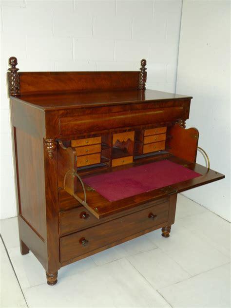 butler desk american empire mahogany butler desk dresser