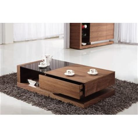 Coffee Table With Storage Uk Giomani Designs Alpha Black Glass And Walnut Storage Coffee Table Giomani Designs From