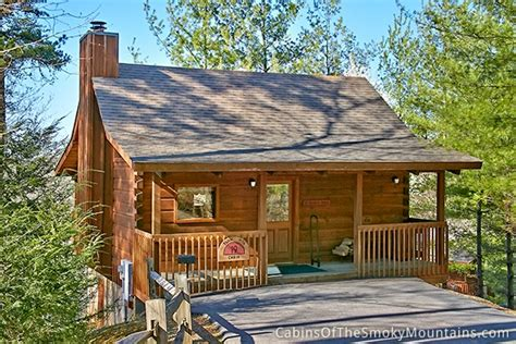 One Bedroom Cabin by Pigeon Forge Cabin Secret Seclusion 1 Bedroom Sleeps 2