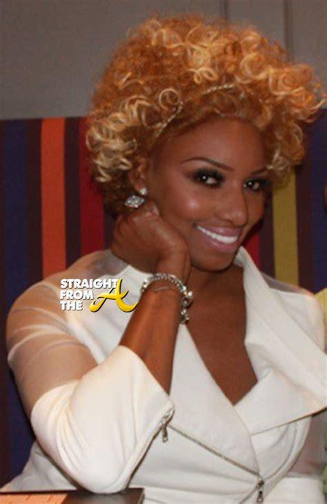 atlanta house wife hair nene leakes curly hair 2 straightfromthea
