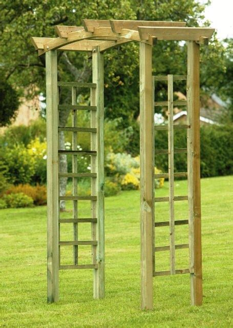Garden Arch Primrose The Severn Garden Arch With Trellis 163 109 99