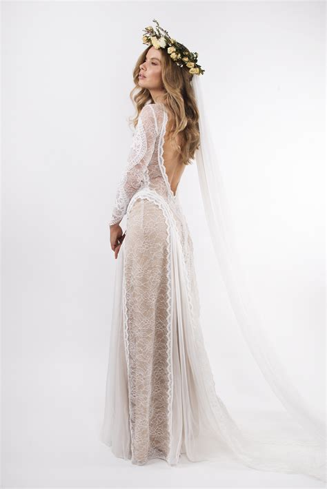 Wedding Dresses Used by Grace Lace Inca Size 8 Wedding Dress Oncewed