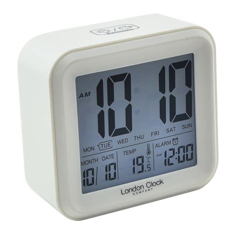 buy digital clock buy digital alarm clock square online purely wall clocks