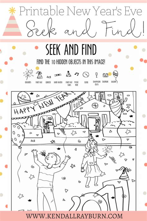 new year activity book pdf new year s printable