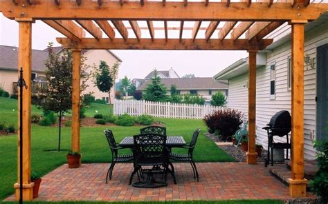 patio pergola cost landscaping gardening ideas
