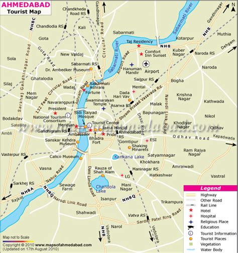 ahmedabad city map satellite ahmedabad travel map maps of ahmedabad