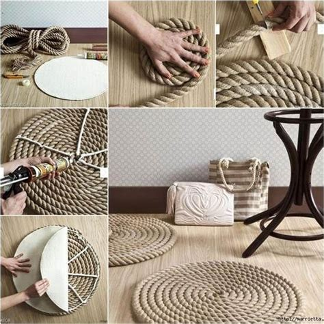 how to make a rug how to make a rug from rope pictures photos and images