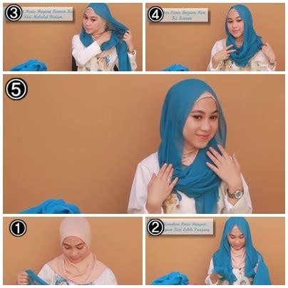 tutorial hijab casual untuk kuliah tutorial hijab untuk ke kus kuliah 1