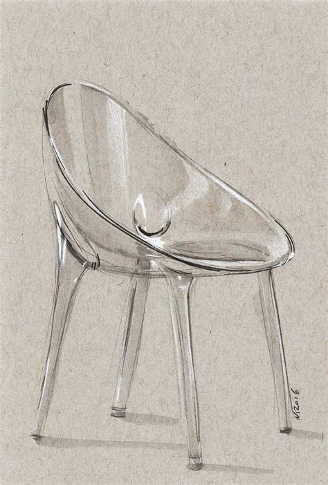 Pencil Sketches Of Chairs Sketch by Chair Sketch Another Trancparency Exercise Took Around