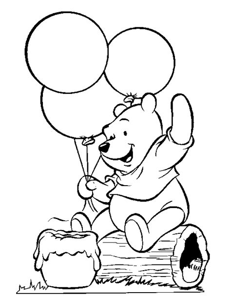 Coloring Pages Winnie The Pooh by Winnie The Pooh Coloring Pages Coloringpagesabc
