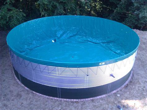 vasche in pvc per acqua benza coperture per cisterne in acciaio tetti per silos