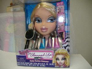 hair and makeup doll head toy makeup and hair styling doll head bratz cloe styling