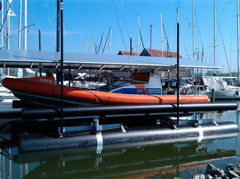 aluminium bootlift overkappingen hooch watersport bootliften en boothuizen