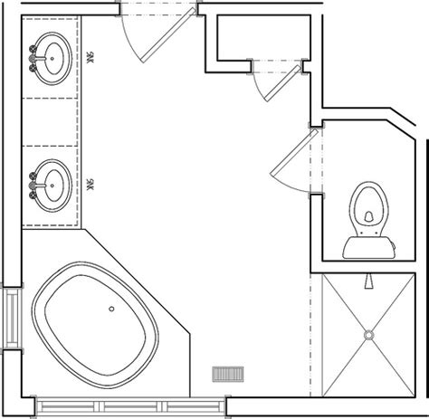 Master Bathroom Plans by Master Bath Before Floor Plan Flickr Photo Sharing