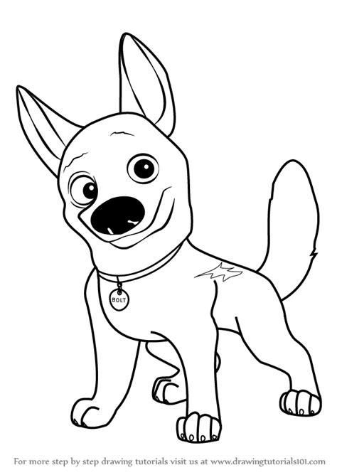 learn   draw bolt  dog bolt step  step