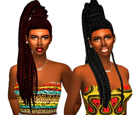 ebonix sims sims 4 cc s the best hair by ebonix
