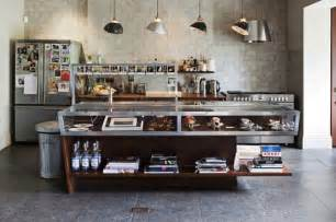 Commercial Kitchen Islands by Tiny Kitchen With Industrial Look Room Decorating Ideas