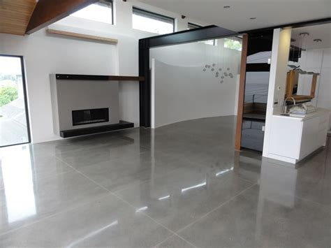 Polished Concrete Interior Floors by Underlayments Dci Flooring Industrial Seamless Floors