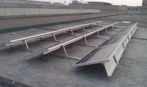 Ballasted Solar Racking by Ballasted Solar Racking Mounting System For Flat Roof Pv