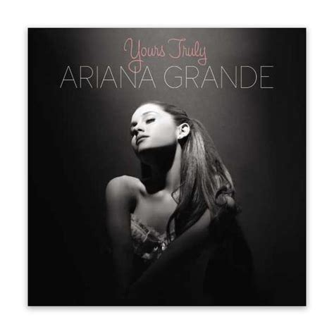 Grande Yours Truly Cd grande merch shirts posters albums store