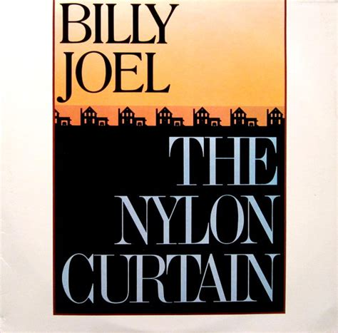 Billy Joel The Nylon Curtain Vinyl Lp Album At Discogs