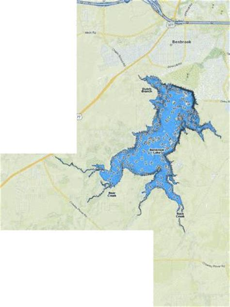 map of benbrook texas benbrook fishing map us tx benbrook nautical charts app
