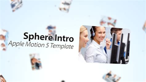 sphere introduction final cut pro x template