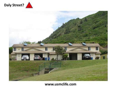 Hawaii Army Base Housing by Daly Neighborhood Marine Base Hawaii Usmc
